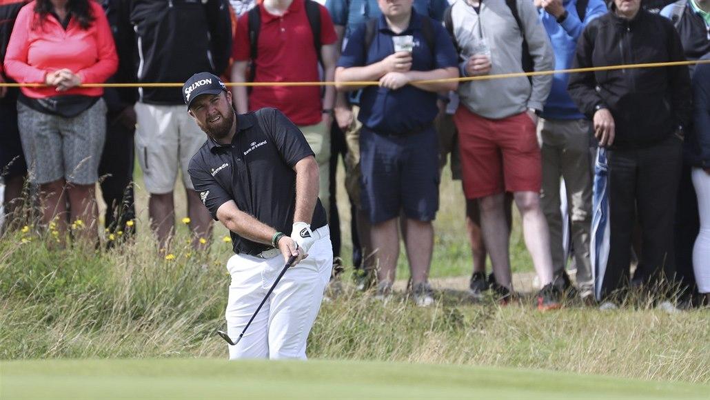 Lowry vede po třetím kole golfové British Open o čtyři rány