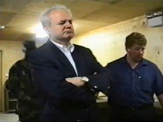 Zadržení Slobodana Miloševiče