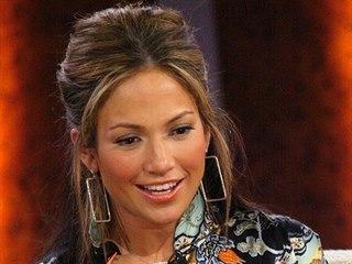 Jennifer Lopezová v roce 2003 v talk show v Berlíně.