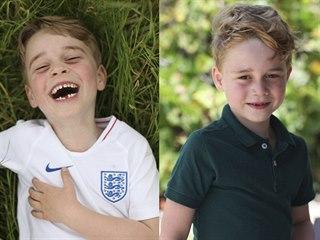 Princ George slaví šesté narozeniny (21. července 2019).