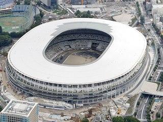 NÁRODNÍ STADION V TOKIU. V místě arény, která hostila hry v roce 1964, se...