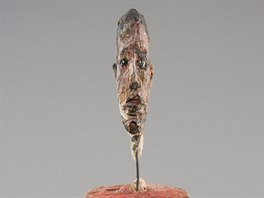 Alberto GIACOMETTI, Head of a Man on a Base, 1949-1951