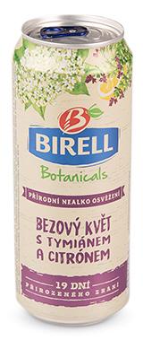 Birell Botanicals Bezový květ, tymián, citron