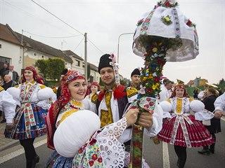 Hody s právem na Uherskohradišťsku udržuje 47 obcí.