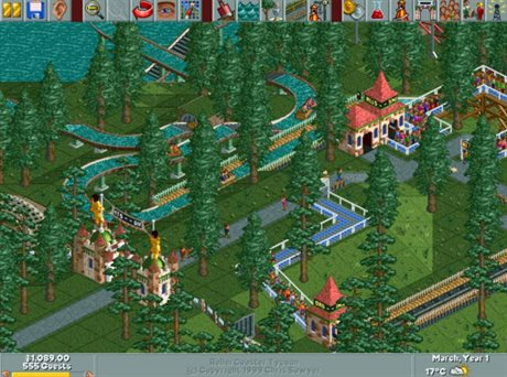 RollerCoaster Tycoon (1999)