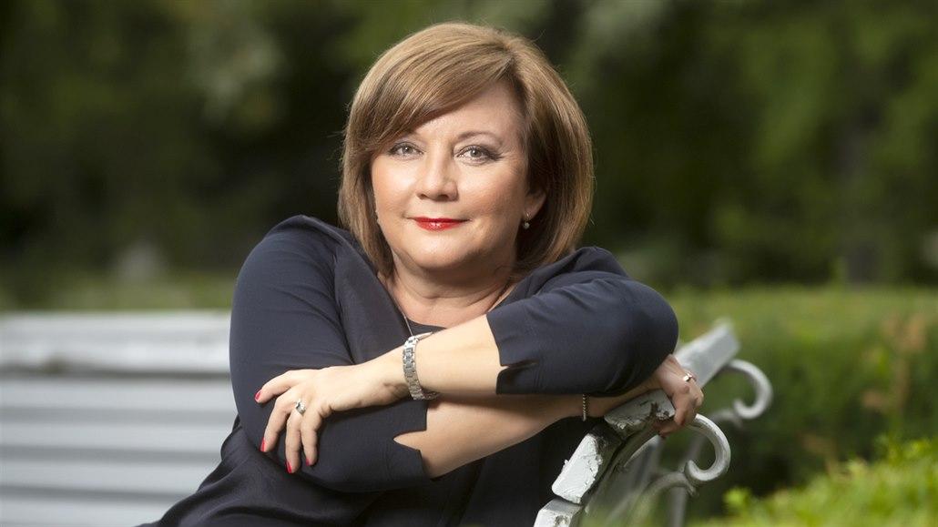Místopředsedkyně vlády a ministryně financí Alena Schillerová
