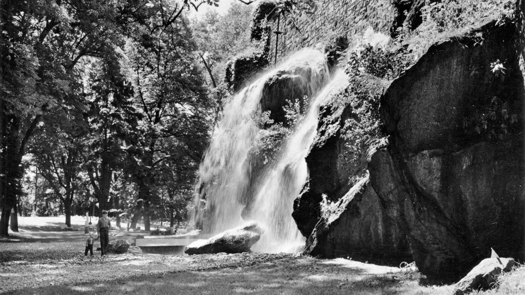Po desítkách let zabouří letos v olomouckém parku velký umělý vodopád