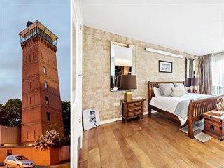 Sto dvacet tři let stará vodárenská věž v londýnském Shooters Hill, která...