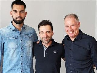 Reprezentační brankář Tomáš Koubek (vlevo) je novou akvizicí bundesligového...