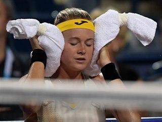 Marie Bouzková ve druhém kole turnaje v Torontu.