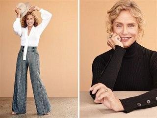 Lauren Huttonová se v pětasedmdesáti letech stále věnuje modelingu