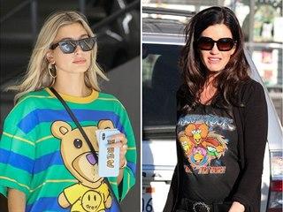 Celebrity milují infantilní trička