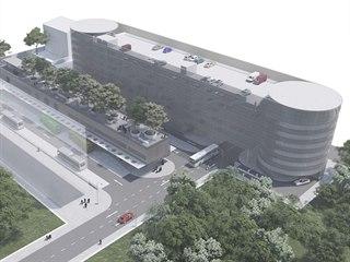 Parkovací dům a autobusové nádraží s odbavovací halou budou dvě samostatné...
