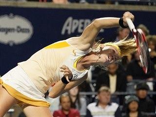 Marie Bouzková ve čtvrtfinále turnaje v Torontu.