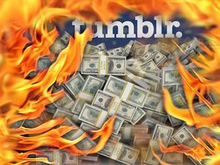 Cena služby Tumblr klesla mezi lety 2013 a 2019 o 99 %
