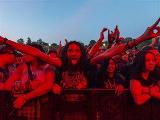 Brutal Assault 2019  - fanoušci americké kapely Testament.
