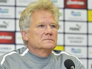 Trenér fotbalistů Antverp László Bölöni