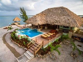 Exkluzivní soukromý ostrůvek v Belize je určený pro skupinu, která si pronajme...