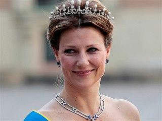Norská princezna Martha Louise (2013)