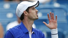 Andy Murray na turnaji v Cincinnati.