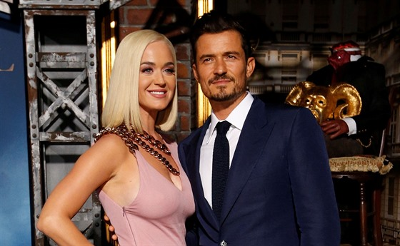 Katy Perry a Orlando Bloom (Los Angeles, 21. srpna 2019)