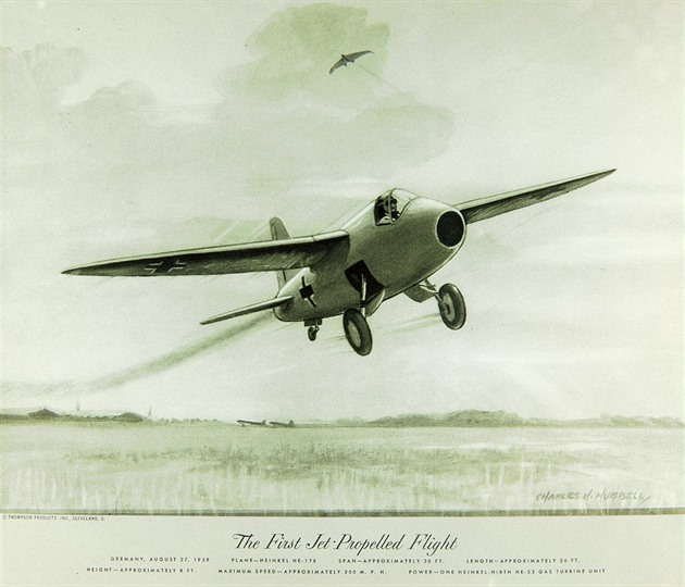 Revoluce v letectví. První proudový stroj vzlétl těsně před 2. světovou válkou
