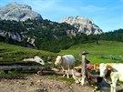 Přírodní park Fanes-Sennes-Prags v Dolomitech