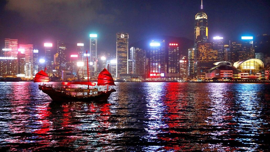 Centrum čínského Hong Kongu
