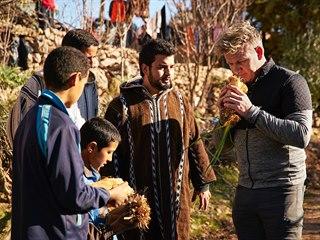 V marockých horách odhaloval Ramsay tajemství berberské kuchyně.