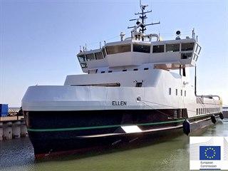 V Dánsku provozují trajekt Ellen, který je poháněný pouze elektrickou energií z...