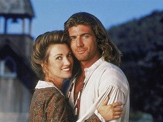 Jane Seymourová a Joe Lando v seriálu Doktorka Quinnová (1993)