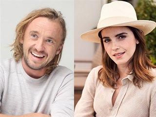 Tom Felton a Emma Watsonová