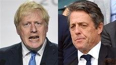 Boris Johnson a Hugh Grant (2019)