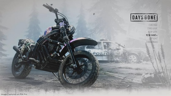 Days Gone - New Game Plus