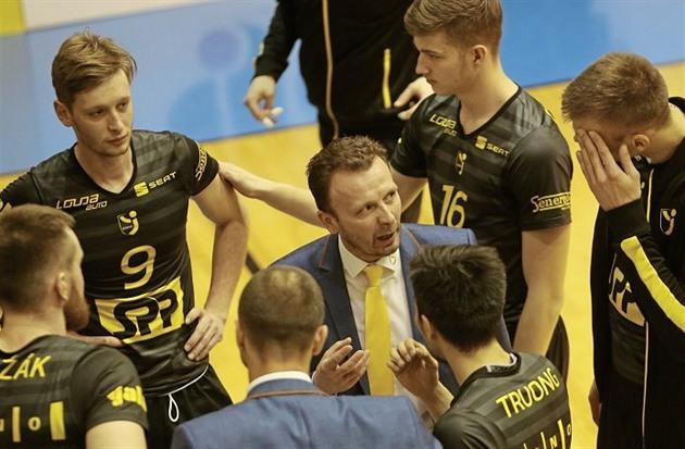 Volejbalisté Brna napotřetí zvládli tie-break a porazili Zlín