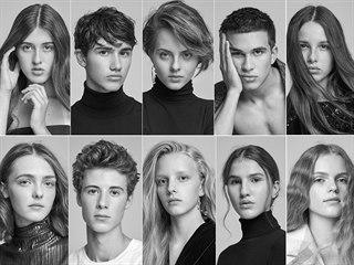 Finalisté soutěže Pure Model 2019