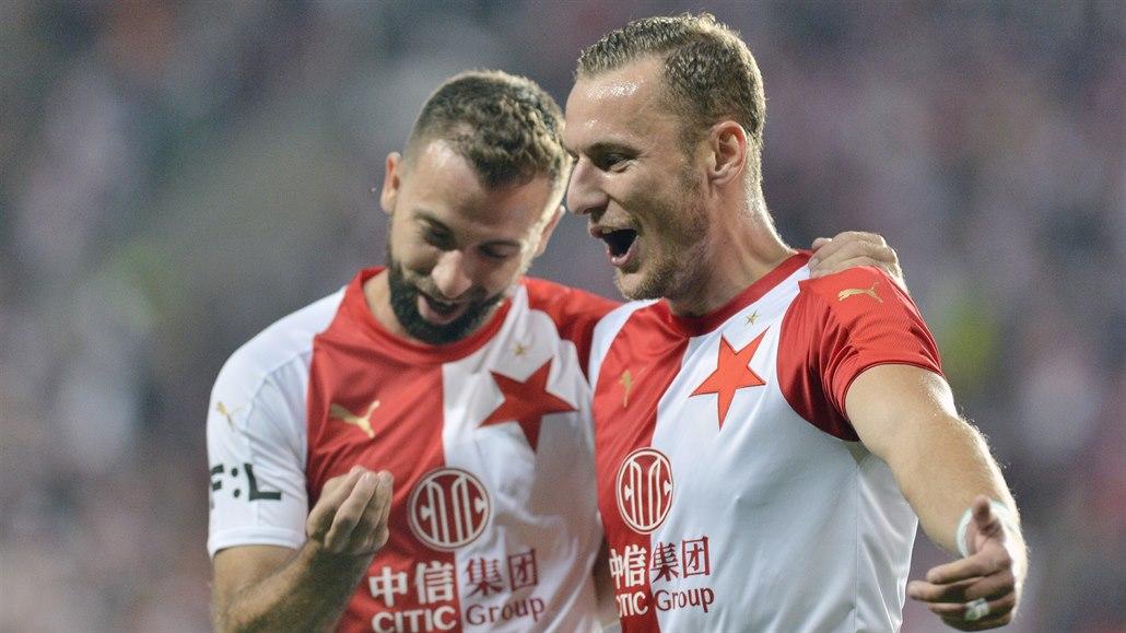 Slavia - Slovácko 3:0, před Interem snadná výhra, trefil se i Provod