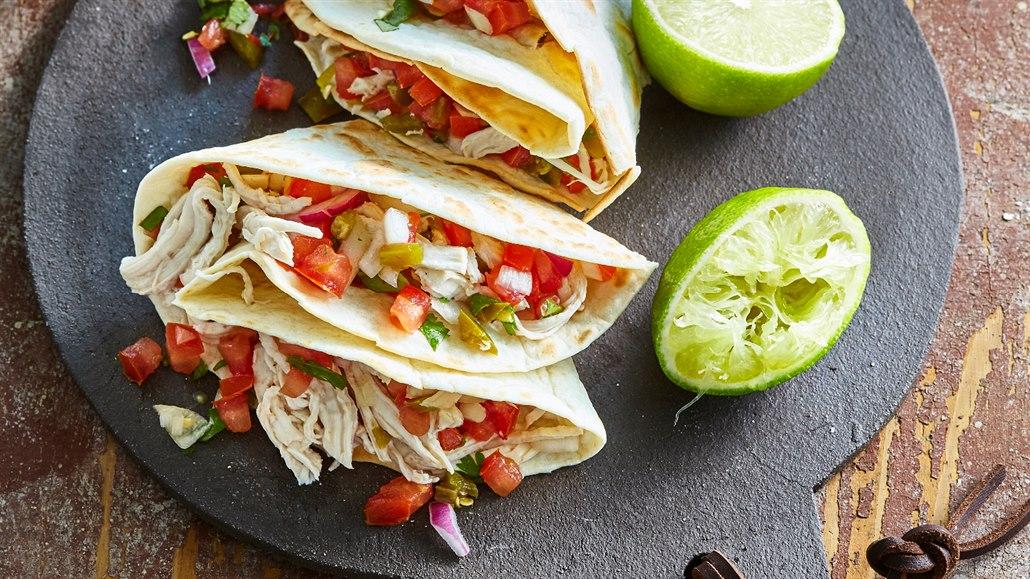 Báječné tacos, wrapy a tortilly. Zabalené svačinky do školy i do práce