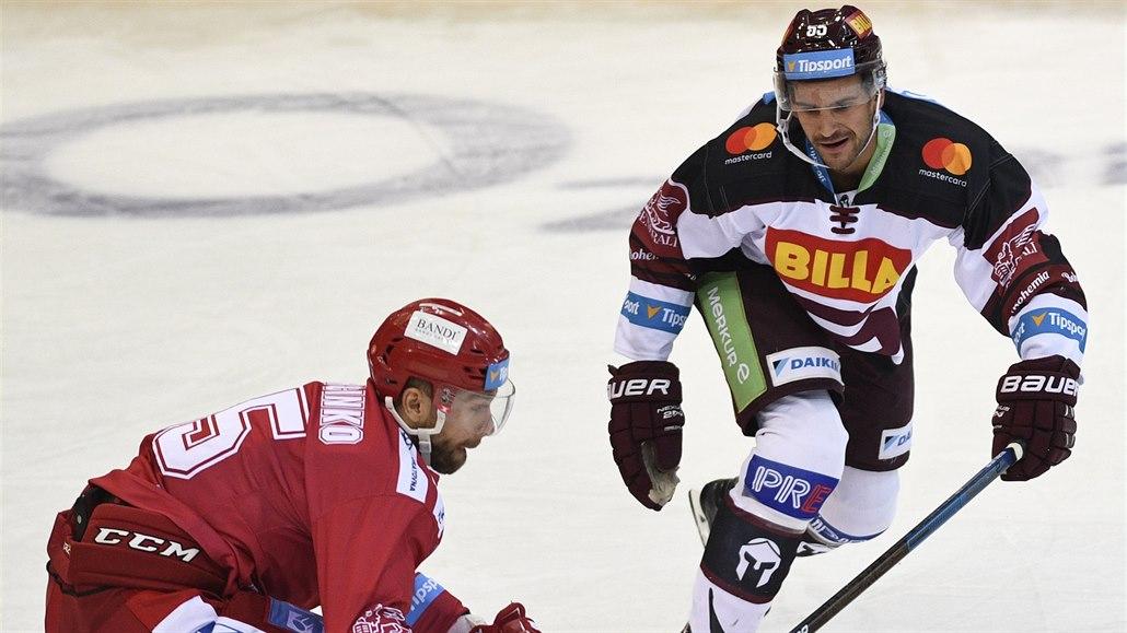 Hokejová Sparta slaví výhru, proti Třinci rozhodla v závěru