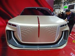 Koncept mamutího SUV čínské značky Hongqi představený na autosalonu ve...