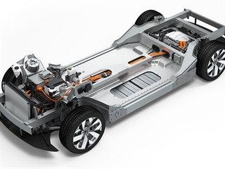 Elektrická platforma pro velké výkonné automobily je společným dílem firem...