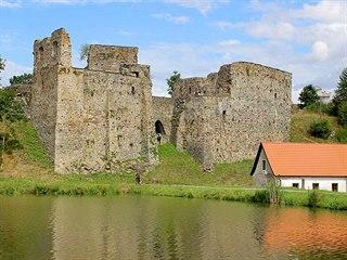Vodní tvrz Borotín patří k nejromantičtějším v Čechách.