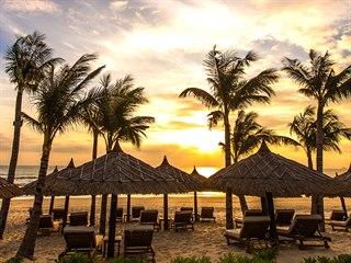 Pláž The Anam patří k nekrásnějším destinacím ve Vietnamu.