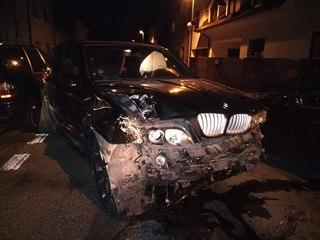 Opilý řidič v pardubickém městském obvodu Dubina naboural při noční jízdě se...
