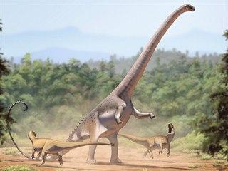 Jedním z evolučních důvodů gigantických rozměrů sauropodů byla pasivní obrana...