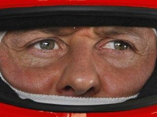Michael Schumacher v roce 2010.