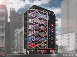 Kocept hotelu pro hráče e-ZONe Hotel