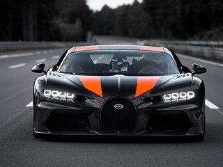 Rychlostní rekord Bugatti Chiron