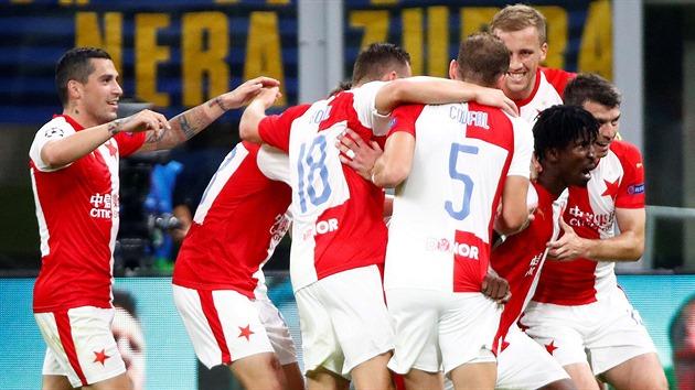 Slavia sahala po výhře, Inter srovnal až v nastavení