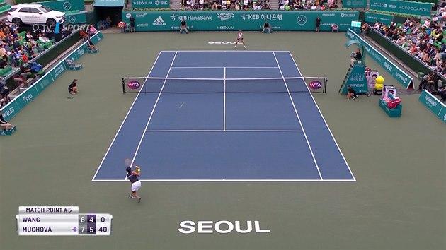 Karolína Muchová postoupila na turnaji v Soulu do finále
